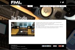 Foundry Music Lab Wordpress website