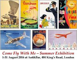 AntikBar Summer Exhibition - Come Fly With Me