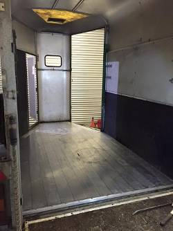 Horse Box Trailer Floor replacement rotten Ifor