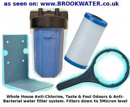Whole House Chlorine Anti Bacterial Filter System