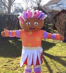 Upsy Daisey mascot costume from £40