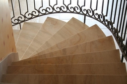 French Limestone Staircase