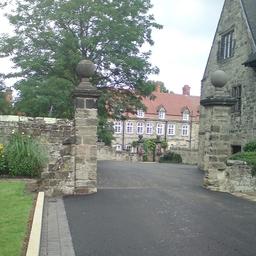 Repton School after work.