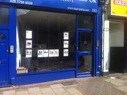 laminated shop front