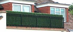 hedgedin artificial hedges balcony screening