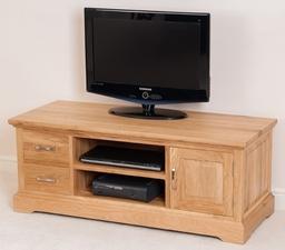 Aspen Solid Oak Widescreen TV Unit