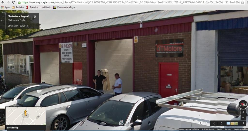 Dt Motors Cheltenham In 10d Alstone Lane Industrial Estate