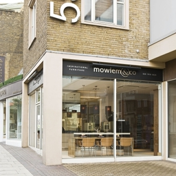 Mowlem & Co. London Showroom, 555 Kings Road, Chelsea.