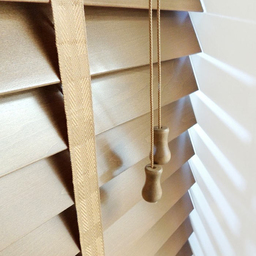 Next Day Medium Oak Wood Venetian Blinds With Tape