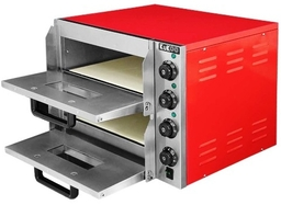 Twin Deck Electric Pizza Oven and Grill to Give the taste of Italy !!!