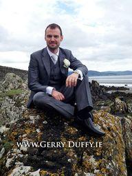 Dundalk groom photograph from Blackrock beach