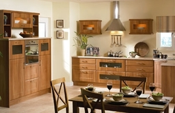 Kitchen Doors in Auckland Shaker Design In Medium Walnut