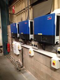 50kw Solar P.V. Installaion - Inverters
