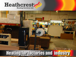 Heating for Factories