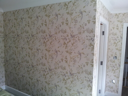 Bedroom - papered (laura ashley)