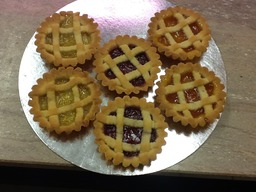 homemade tarts