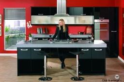 Kitchen Duleek Kitchen Doors In High Gloss Black