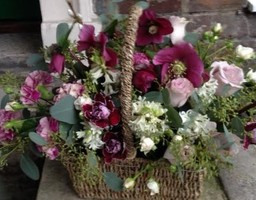 Funeral Basket of Flowers - 01962 861999