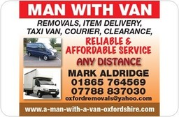 Man With A Van Oxfordshire Removals