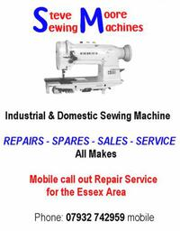 Steve Moore Sewing Machines - Southend 07932 742959