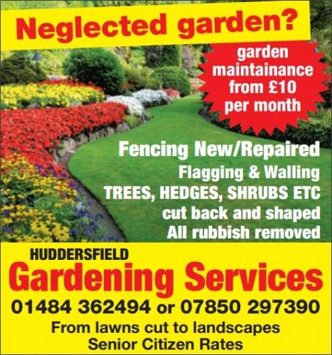 Garden Landscaping In Halifax Huddersfield West: Details For Huddersfield Gardening Services In Bradcroft