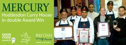 Mercury Hoddesdon Curry House in Double Award Win