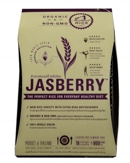 Jasberry Rice is hardy whole grain rice that imparts the body with an abundant supply of antioxidants and fiber.
