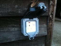 Outside sockets.