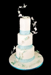 Fluterby cake. See this on our website www.enticingcakes.co.uk