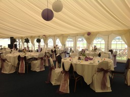 Wedding  marquee in East Sussex