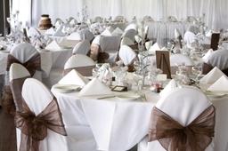 Cholcolate wedding set up
