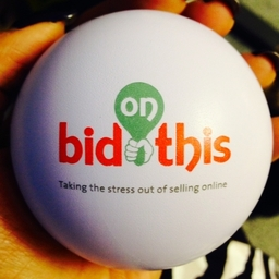 Bid on This stress ball, taking the stress out of selling online