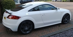 Audi TT S-Line after our full valet package