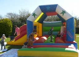 Combi/Slide Bouncy Castle