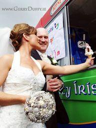 Ice Cream van at a Dundalk wedding in St Patricks