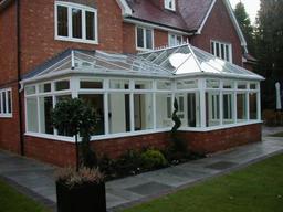A square P'shape conservatory