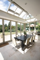 Light filled contemporary Orangery