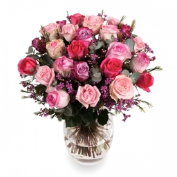 Pink-Mix Rose Bouquet - to order for delivery on our website