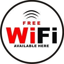 Free WiFi Onboard