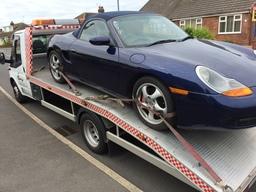 Porsche Boxster Car Delivery