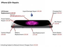iPhone 6 and 6 Plus Repairs