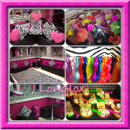 little girl party room