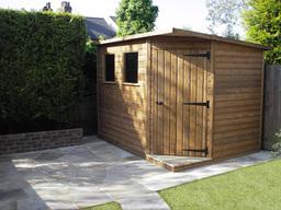 garden sheds north london