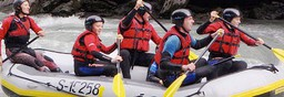 Austria activity holiday - family rafting trip