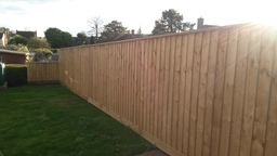 featheredge fencing in Exeter