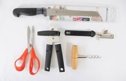 Left handed kitchen essentials set