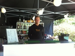 Outside mobile bar for hire