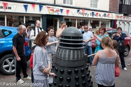 Photo from 2011.  DALEKMANIA. Dr Who themed event.