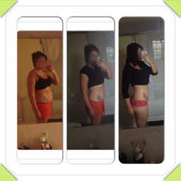 YG Client1- 4 months of Correct Diet and Training.