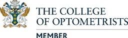 We are a member of the college of optometrists